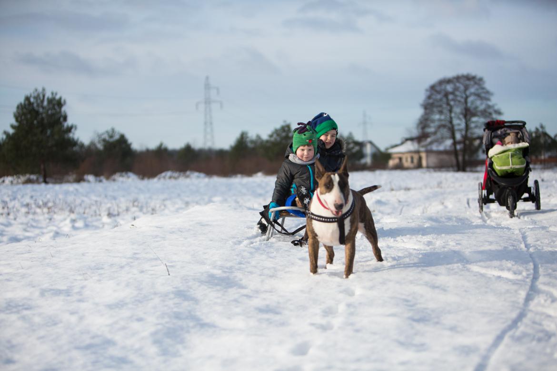 dzieci spacer zima-141