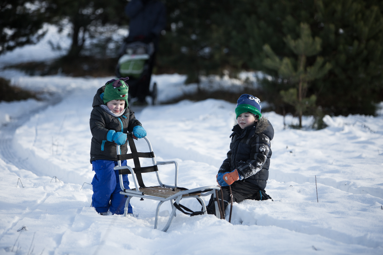 dzieci spacer zima-177