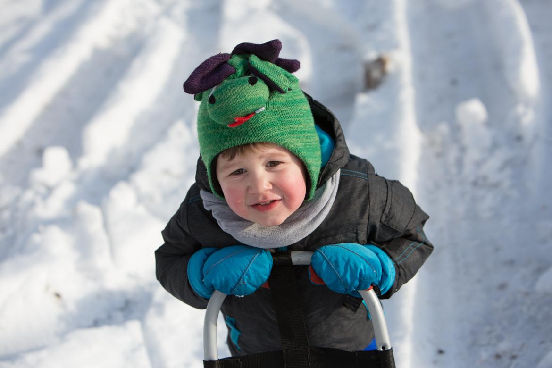 dzieci spacer zima-410