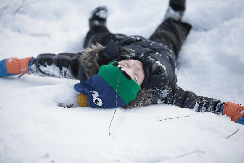 dzieci spacer zima-46