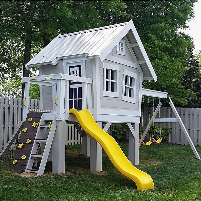 domek w ogrodzie dla dzieci-13