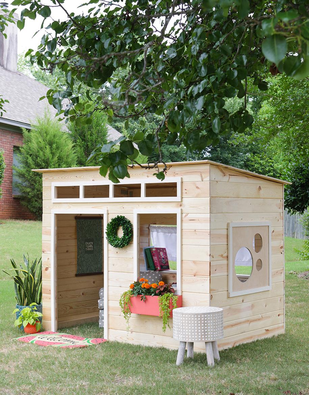 domek w ogrodzie dla dzieci-14