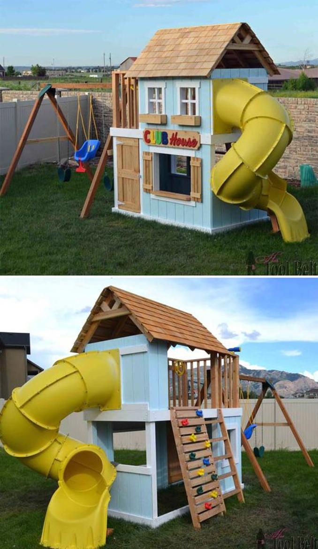 domek w ogrodzie dla dzieci-22