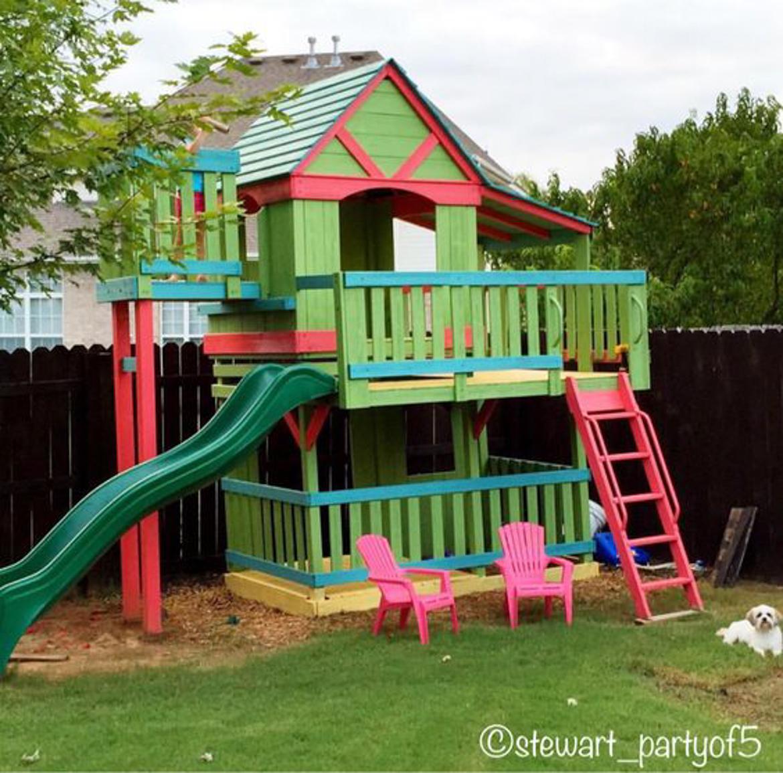 domek w ogrodzie dla dzieci-35
