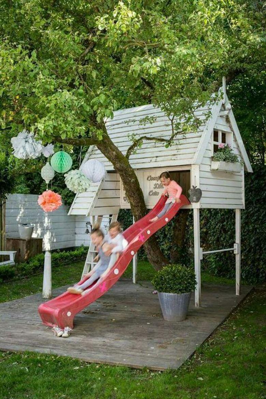 domek w ogrodzie dla dzieci-7