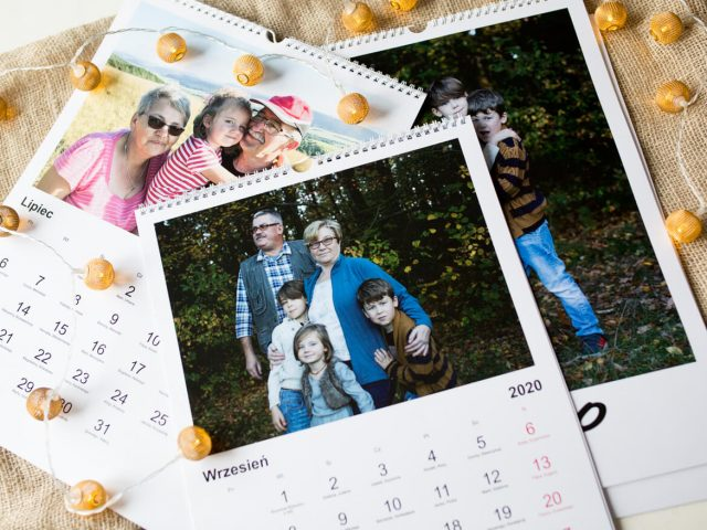 foto kalendarze na święta