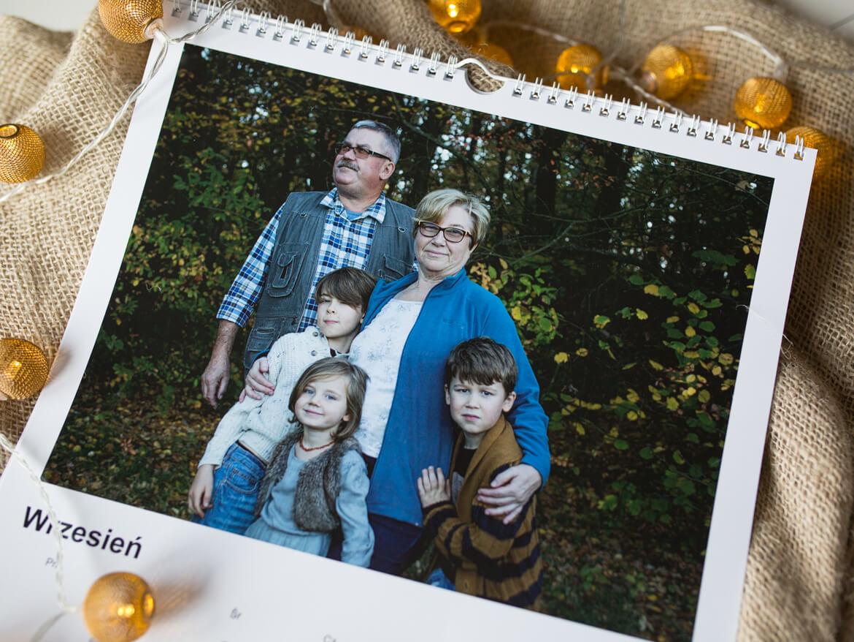 kalendarz dla babci i dziadka