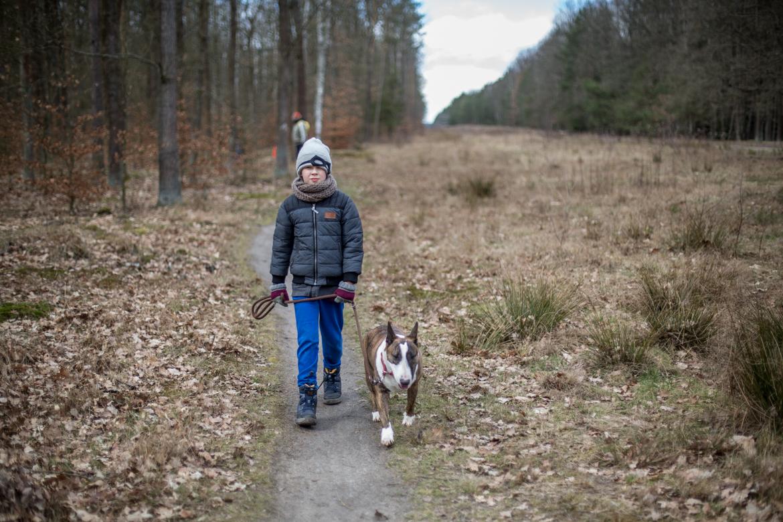 wycieczka do lasu w czasie epidemii